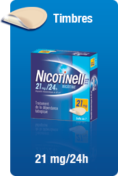 Image NICOTINELL 21MG/24H DISPOSITIF TRANSDERMIQUE 28